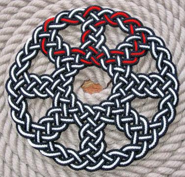 Cornish Wheel rope knot by TaffGoch