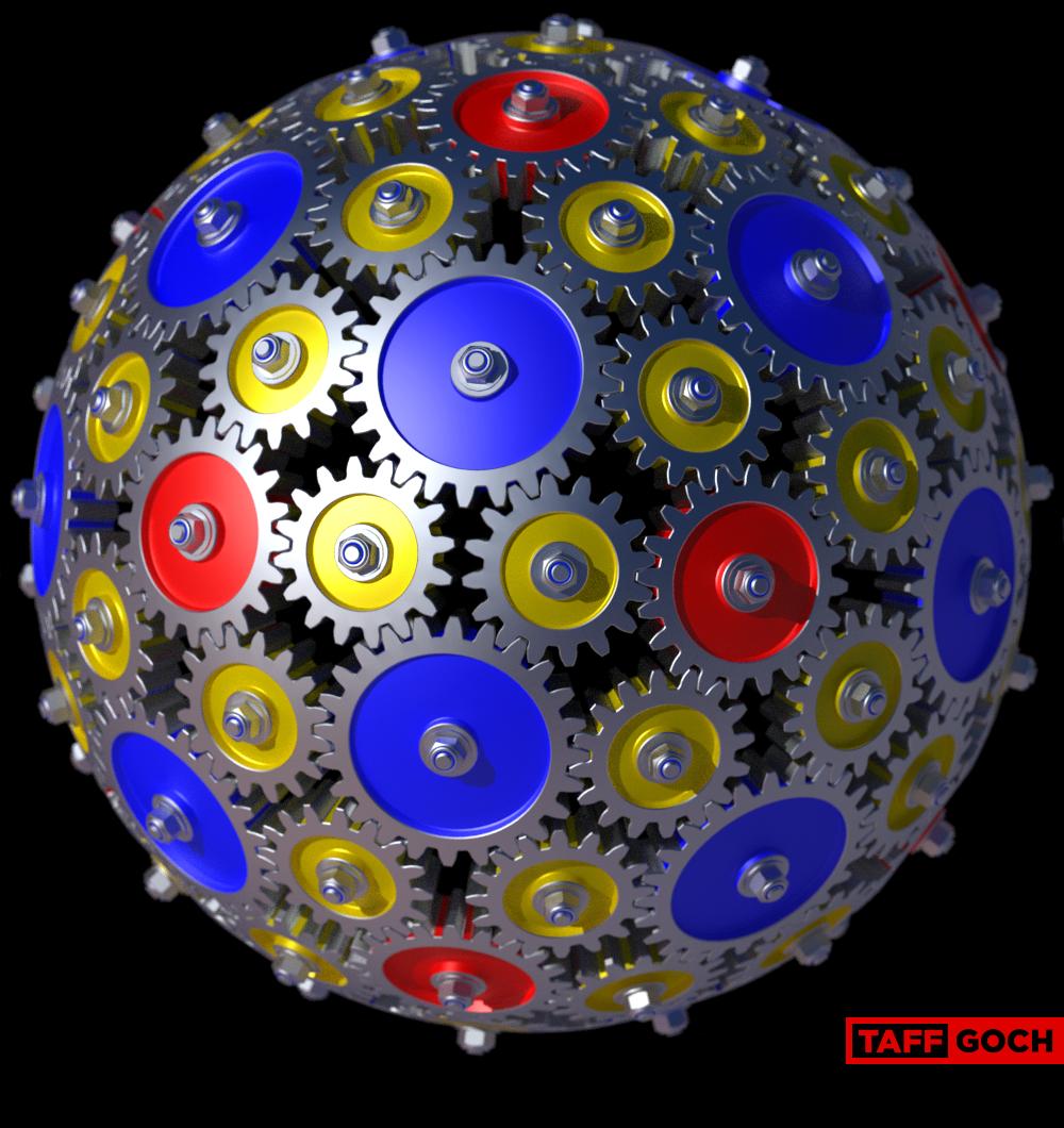 92 Gears (Redux) by TaffGoch
