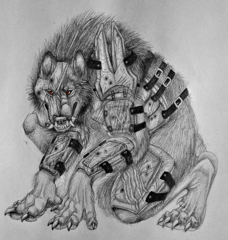 Armor Wolf by Edeneue