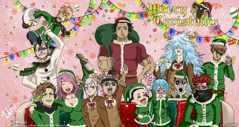 Black Bulls Merry Christmas by Ury-DeviantArt