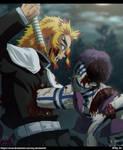 Kimetsu no Yaiba: Rengoku VS Akaza