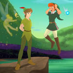 Link and Peter Pan outfit swap