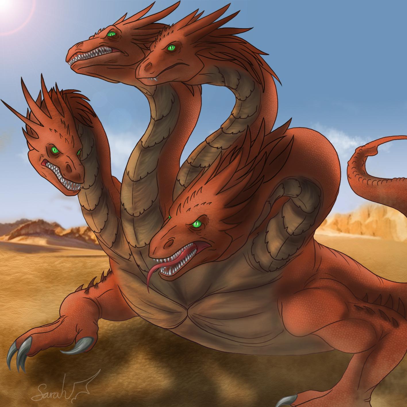 Hydra Dragon Pokemon Hydra By Dragonauroralight Dlxt