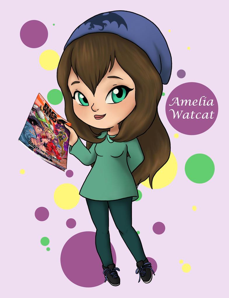 Amelia Watcat profile by Dragonauroralight