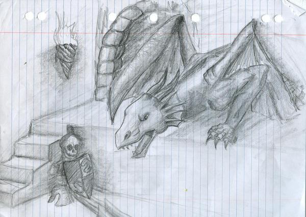 Dragon_2 by SmudgedPixelsArt