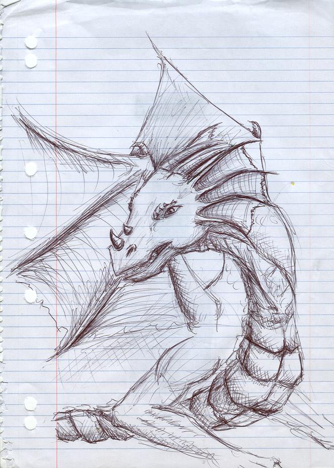 Dragon_5 by SmudgedPixelsArt