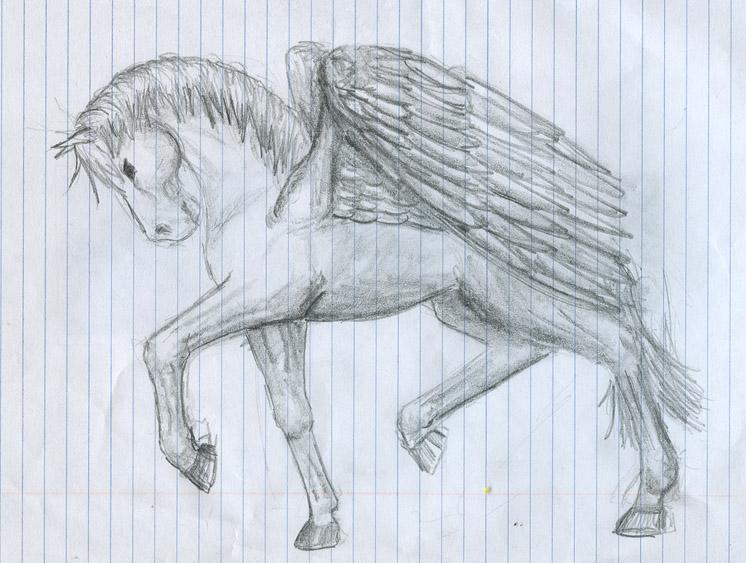 Pegasus by SmudgedPixelsArt