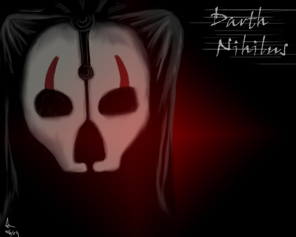 Darth Nihilus by SmudgedPixelsArt