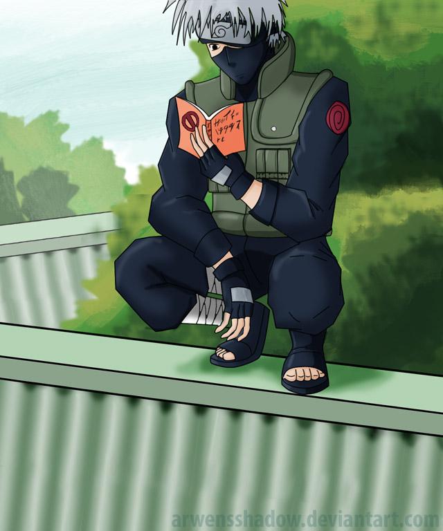 Kakashi sensei by SmudgedPixelsArt