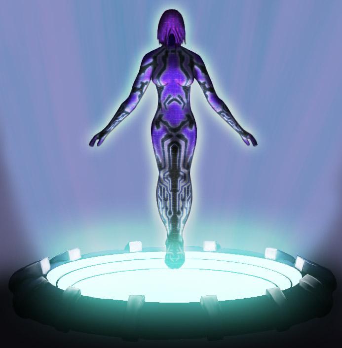 Cortana by SmudgedPixelsArt