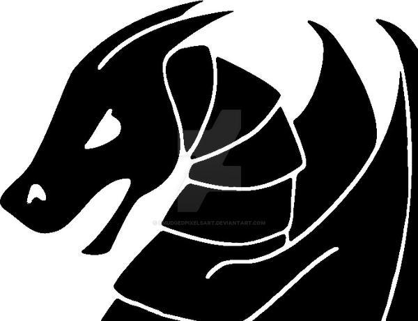 Dragon design 1 by SmudgedPixelsArt