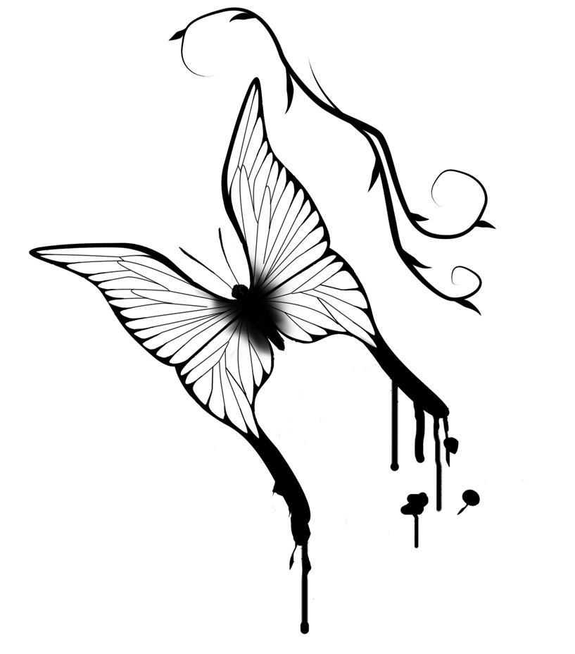 Butterfly by SmudgedPixelsArt