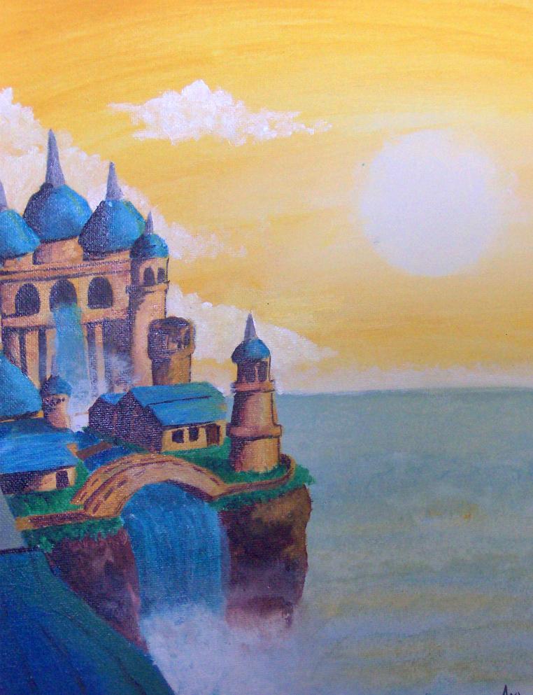 Castle by SmudgedPixelsArt