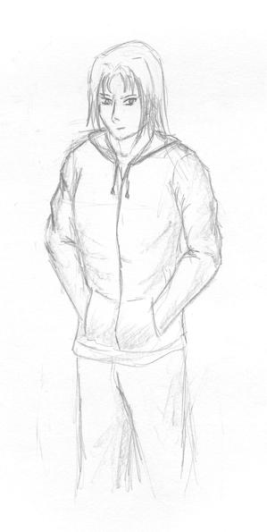 Random anime guy... by SmudgedPixelsArt