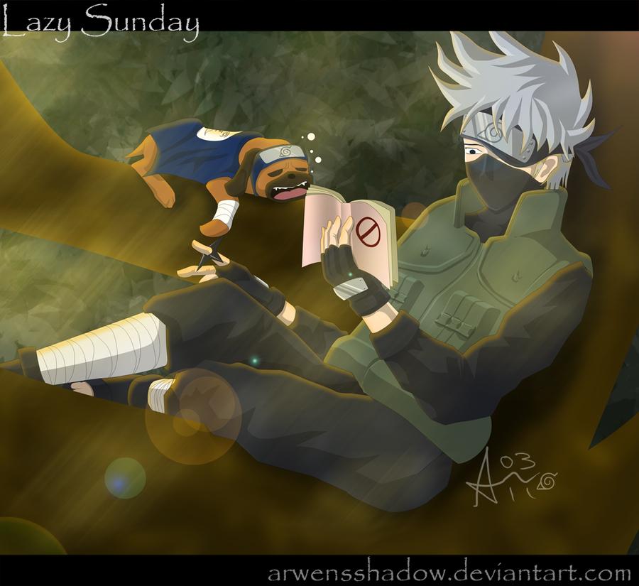 Lazy Sunday by SmudgedPixelsArt