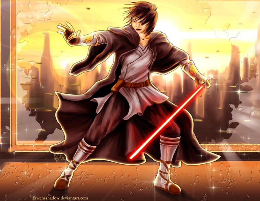 Redrawn: Sith by SmudgedPixelsArt