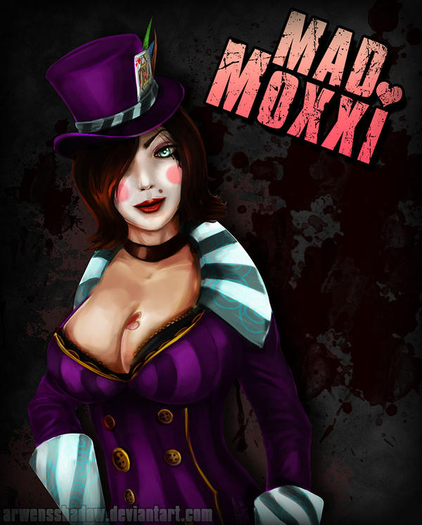 Mad Moxxi by SmudgedPixelsArt