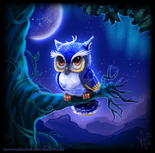 Owl by SmudgedPixelsArt