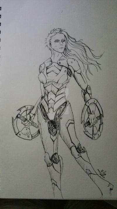 Sci-fi Concept by SmudgedPixelsArt