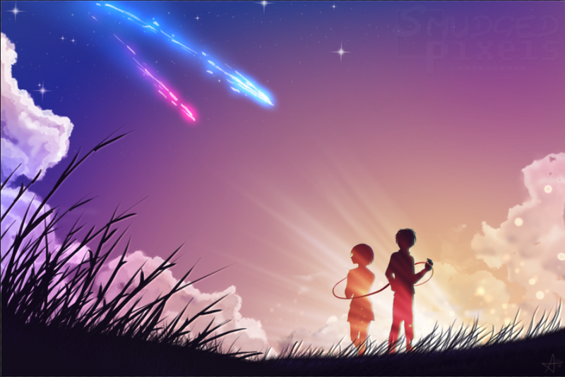 Your Name by SmudgedPixelsArt