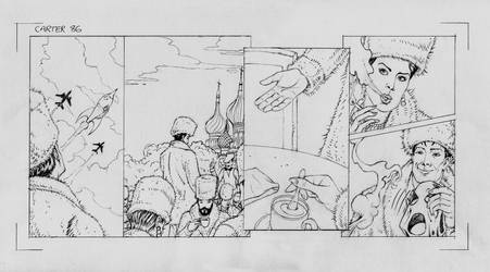 Carter's Column Ep86 (pencils) by MightyJonE