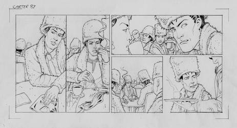 Carter's Column (pencils) Ep87 by MightyJonE