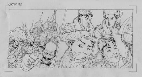 Carter's Column (pencils) Ep90 by MightyJonE