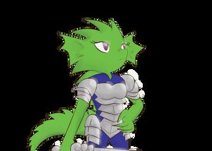 Lady Dragon Knight