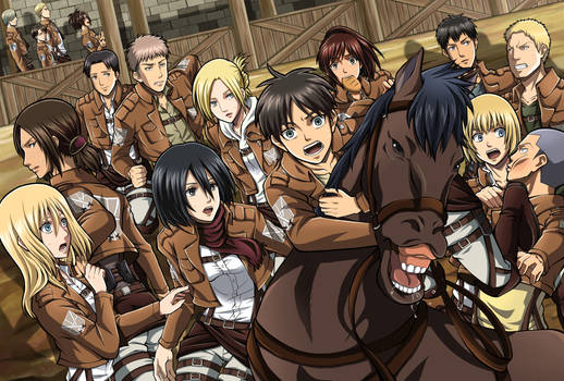 Attack On Titan : All Characters !!!