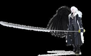 [MMD] Sephiroth DL Link