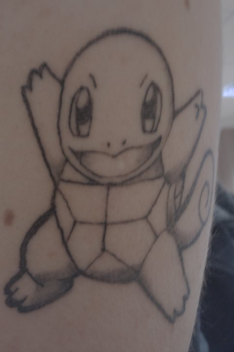 Squirtle Tattoo by VanchaAyris on DeviantArt