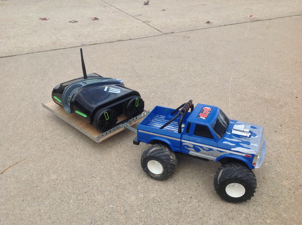 Rc truck custom by Sophiewolfy on deviantART