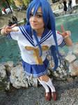 Konata Izumi cosplay,Lucky Star