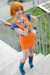 Nami cosplay, Dragon Ball Z x One Piece