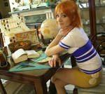 Nami cosplay , East Blue , One Piece