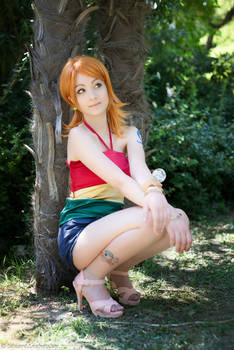 Nami Strong World, One Piece cosplay
