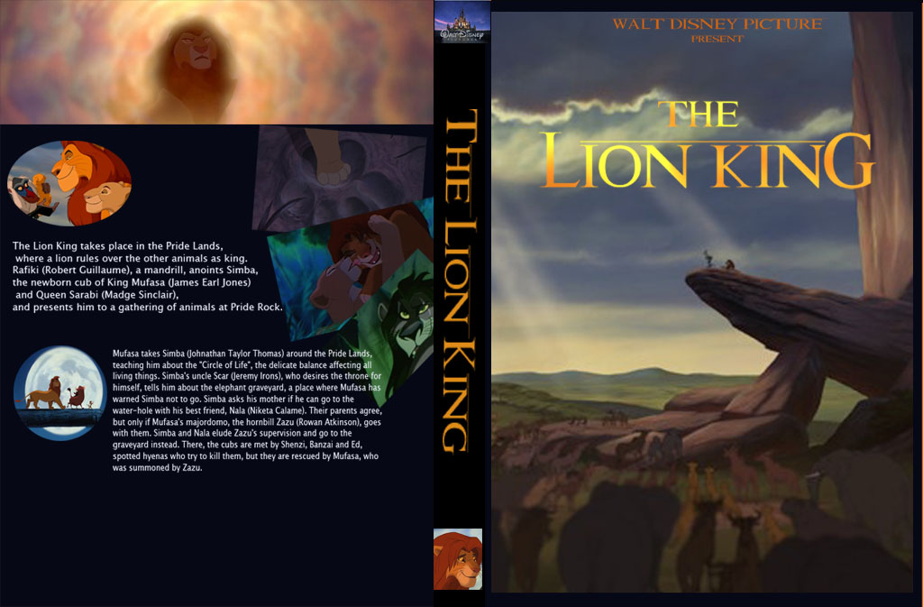 The Lion King DVD Cover by dyb on DeviantArt