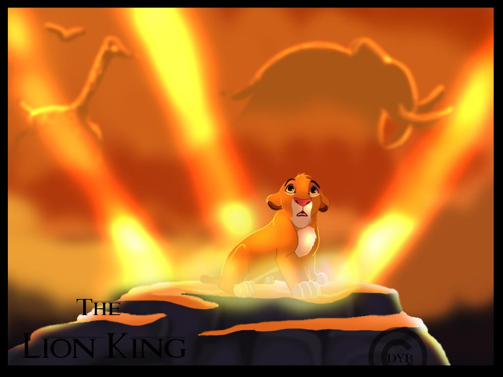 lion king gif simba nala