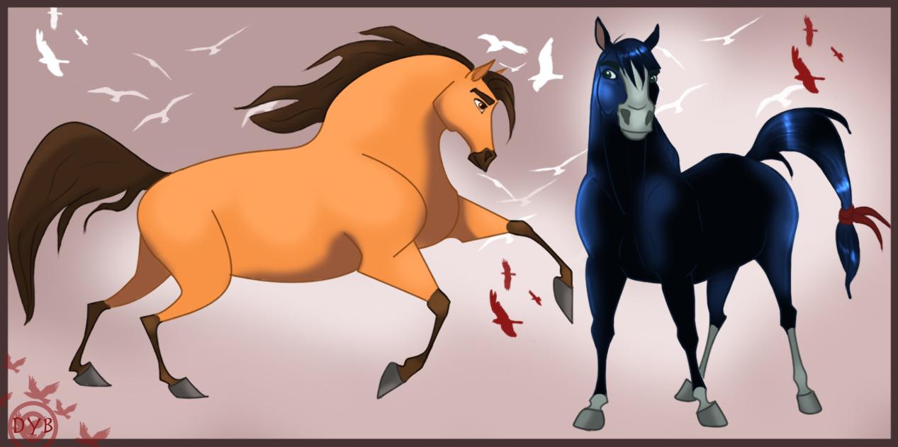 The gallery for --> Spirit Stallion Of The Cimarron ...