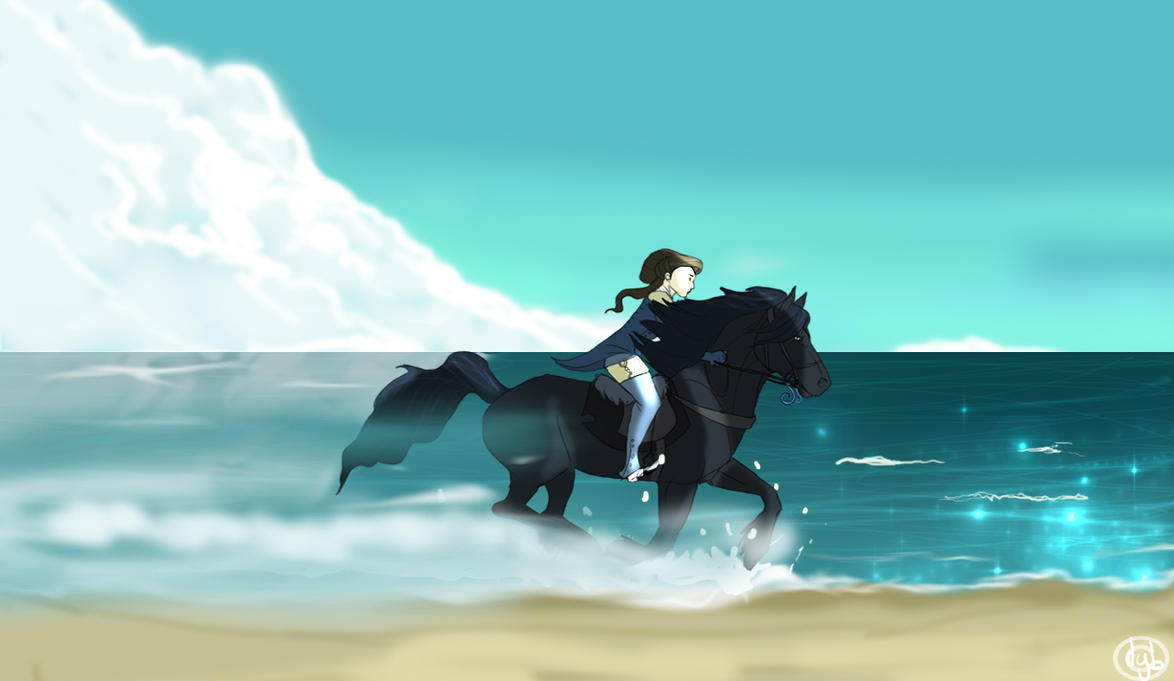 galloping beach by dyb on deviantart