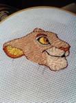 Sarabi Cub Embroidery