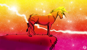 Nightsky Stallion by dyb