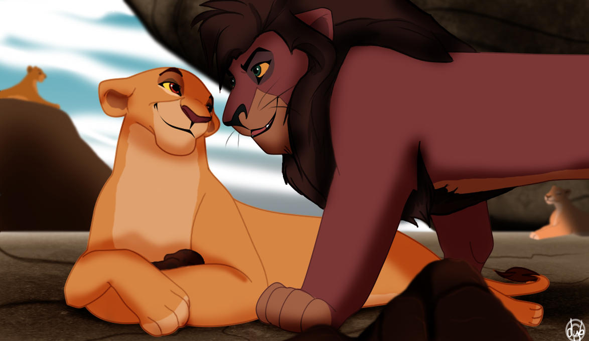 Images du roi lion King_and_his_queen_by_dyb-d6sneet