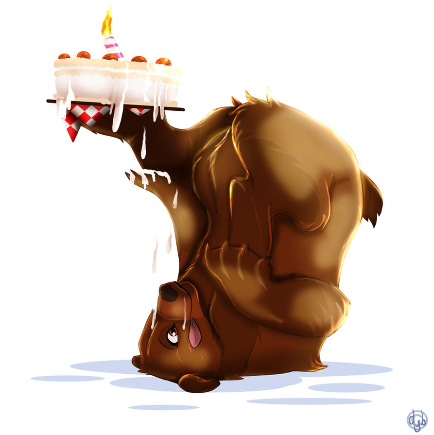 B-Day Bear commission by dyb