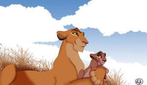 Zira and her Mother