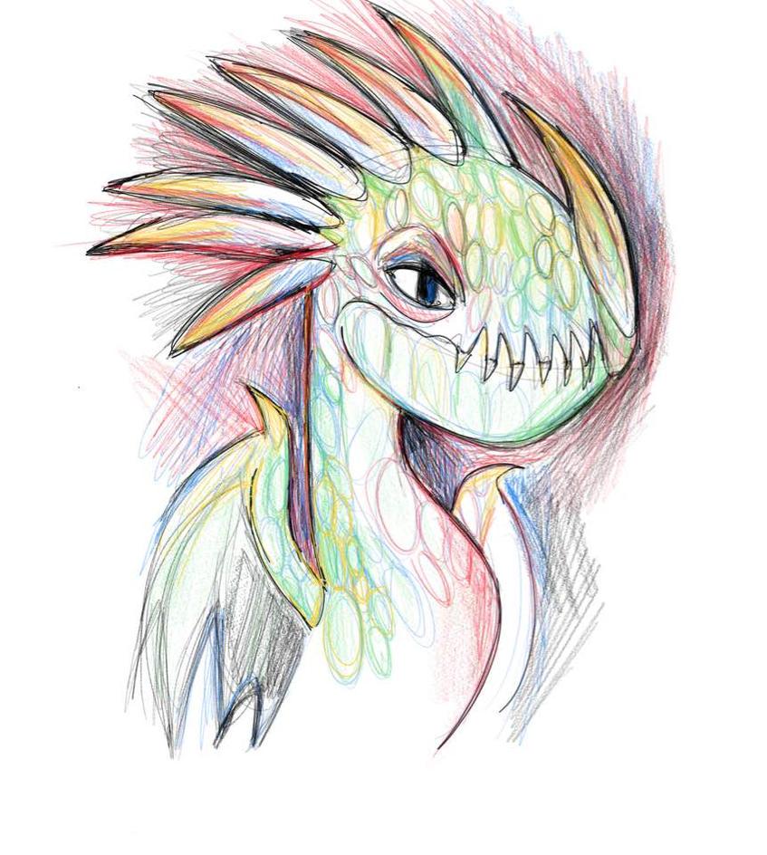 Dragon by dyb