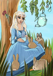 Alice in Wonderland  by dyb