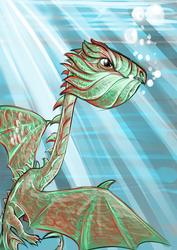 Sea Dragon  by dyb