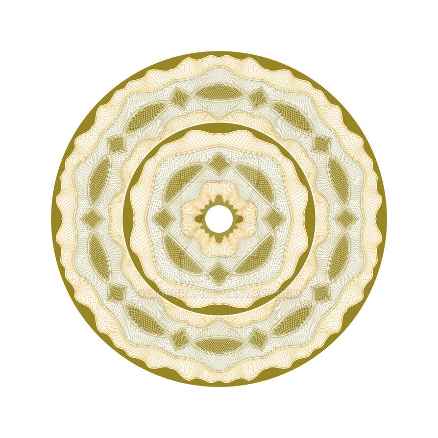 A guilloche rosette by corgraf