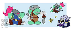 Knight Doodles
